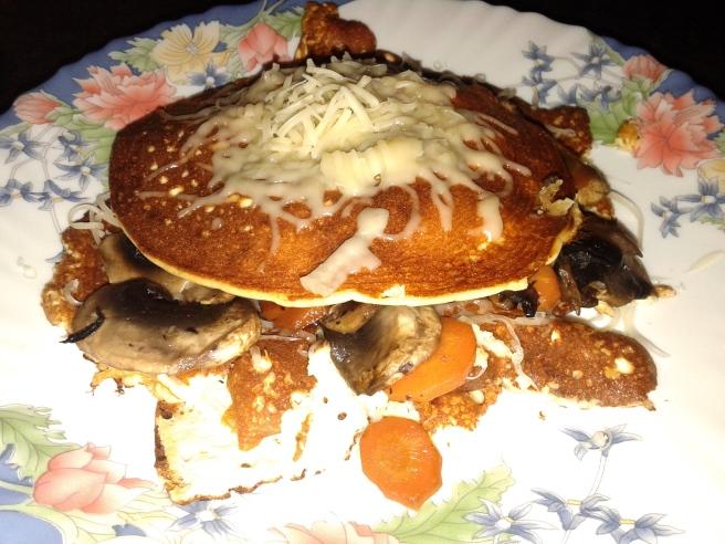 Палачинкова торта, ама не съвсем :)